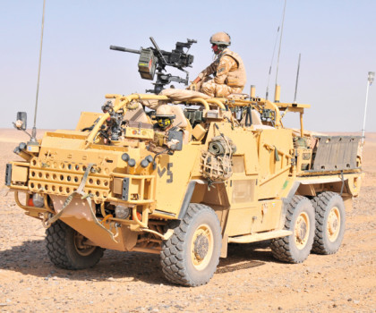 Supacat HMT 600 Armoured Vehicle Coyote