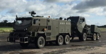 Supacat HMT Light Weight Recovery Vehicle