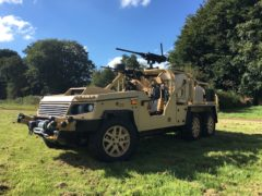 Supacat LRV600 launched at DSEi 17