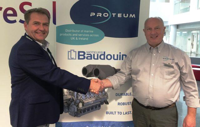 beta marine enhances marine generator range with baudouin engines