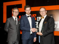 Andrew Burrows, an apprentice with Exeter based heavy engineering specialist, Blackhill Engineering, has won Apprentice of the Year at the Made in the South West Awards.
